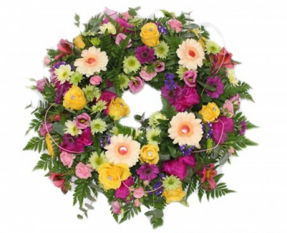 Funeral Ring Wreath