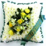 Funeral Cushion Green
